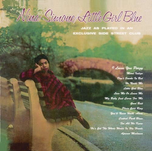 Cover of Nina Simone album <I>Little Girl Blue</I>