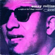 Cover of Sonny Rollins album <I>A Night at the Village Vanguard</I>