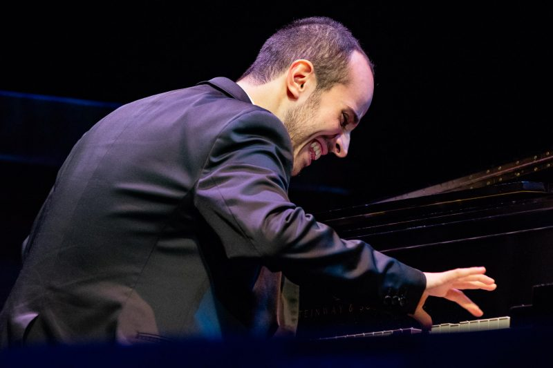 Tom Oren, winner of the 2018 Thelonious Monk Institute of Jazz International Piano Competition