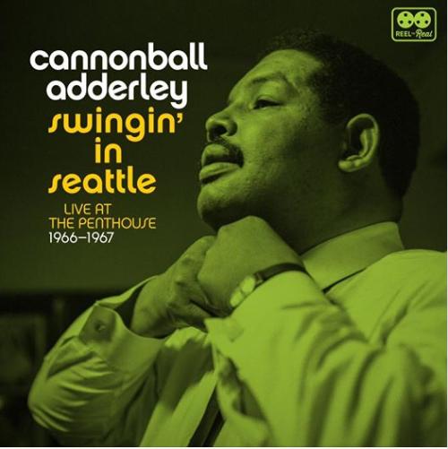 Cover of Cannonball Adderley album Swingin' in Seattle