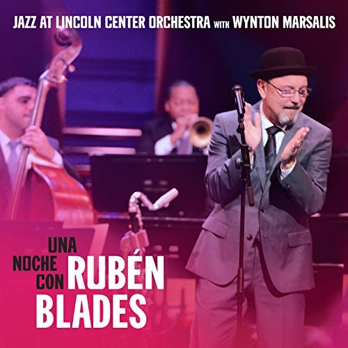 Cover of Jazz at Lincoln Center Orchestra album Una Noche con Rubén Blades