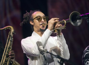 Theo Croker at the Roy Hargrove Musical Celebration