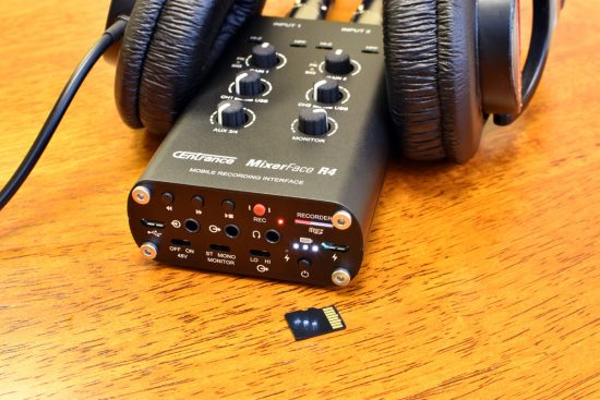 CEntrance MixerFace R4R Interface/Recorder