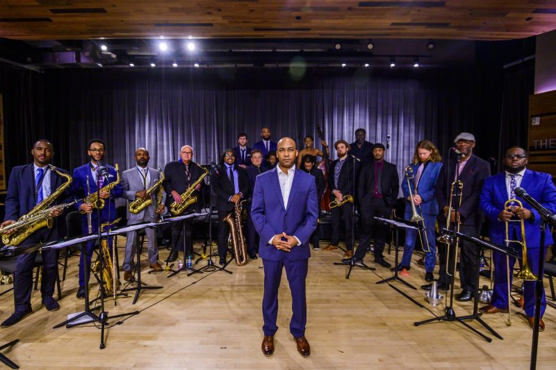 Adonis Rose and the New Orleans Jazz Orchestra (photo by Katie Sikora)