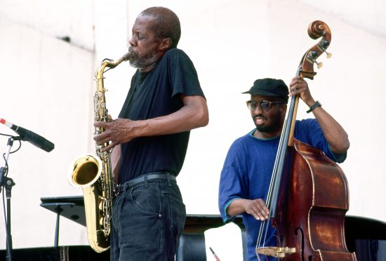 Charles Gayle and William Parker, Damrosch Park, New York, June 1994