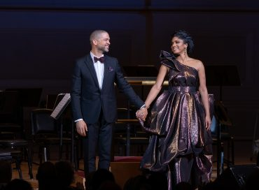 Live Review: Jason and Alicia Hall Moran in Washington