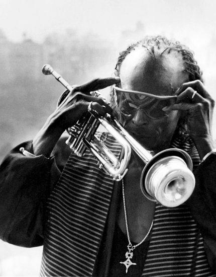 Miles Davis in 1986