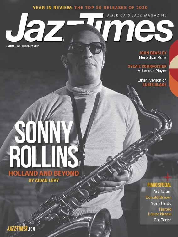 Cover of January/February 2021 issue of JazzTimes