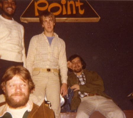 Philadelphia jazz fusion band Reverie (l to r: Gerald Veasley, Jim Miller, Mark Knox, Ed Yellen) at the Main Point in 1978