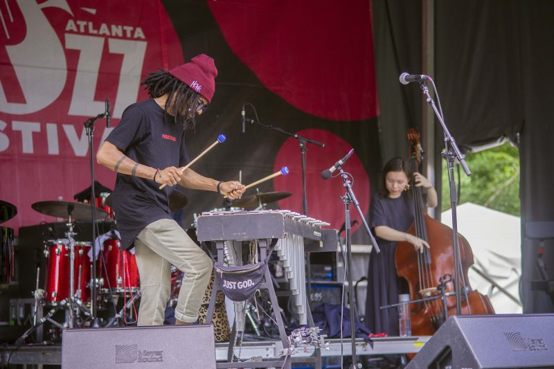 Joel Ross at the 2019 Atlanta Jazz Festival