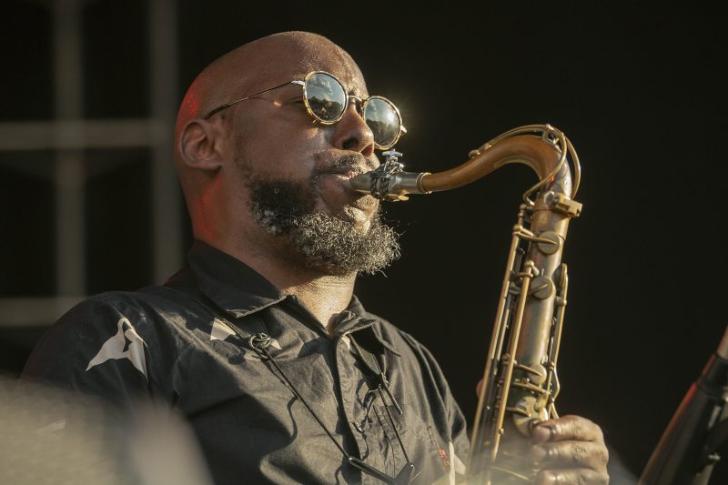 Marcus Strickland at the 2019 Atlanta Jazz Festival