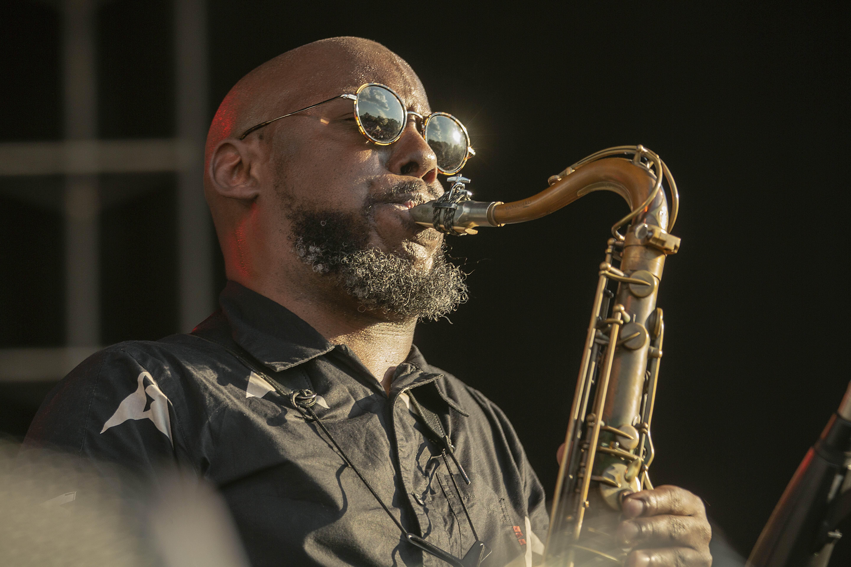Marcus Strickland at the 2019 Atlanta Jazz Festival