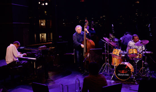 Matthew Shipp, Michael Bisio, and Newman Taylor Baker