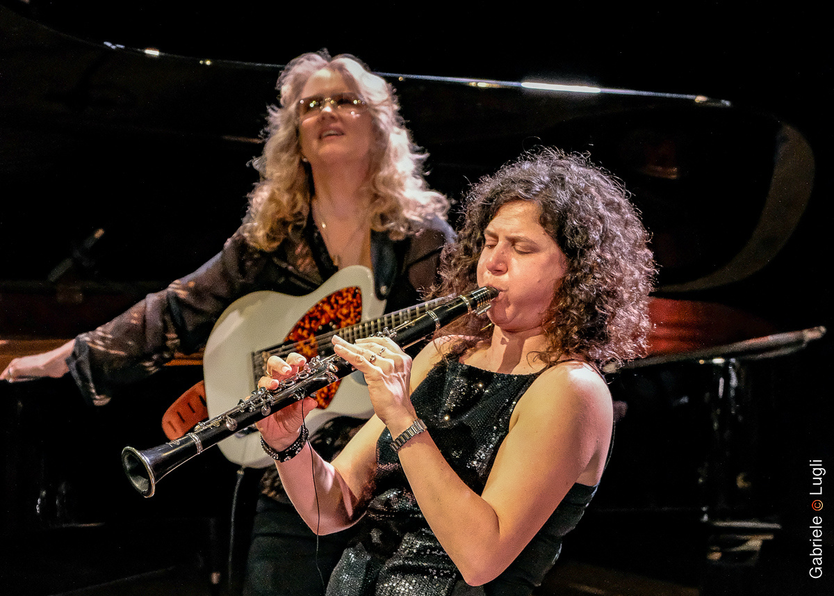 Anat Cohen (right) and Sheryl Bailey