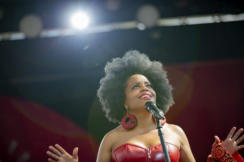 Rhonda Ross at the 2019 Atlanta Jazz Festival