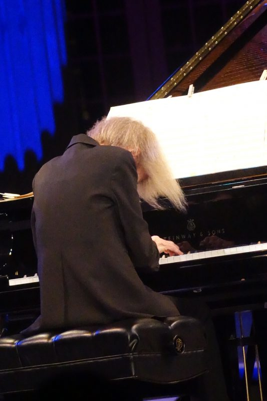 Carla Bley at the 2019 Spoleto Festival USA