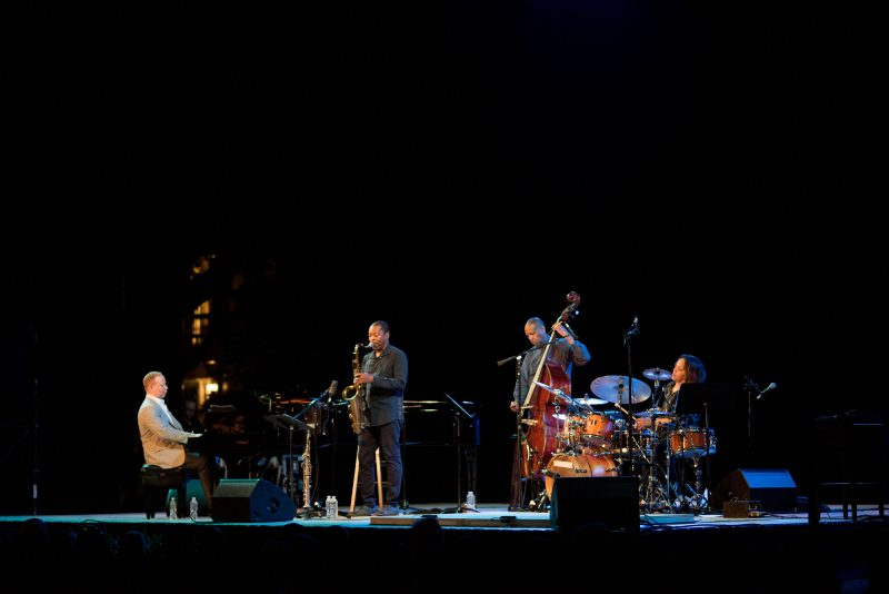 Craig Taborn, Ravi Coltrane, Robert Hurst, and Terri Lyne Carrington at the 2019 Spoleto Festival USA