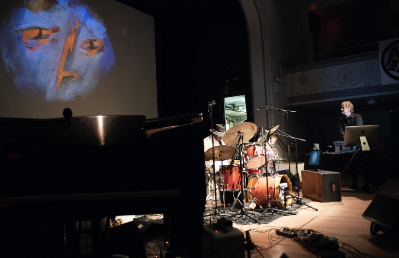 BIG FIRE: Andrew Cyrille and Stefan Roloff at the 24th annual Vision Festival