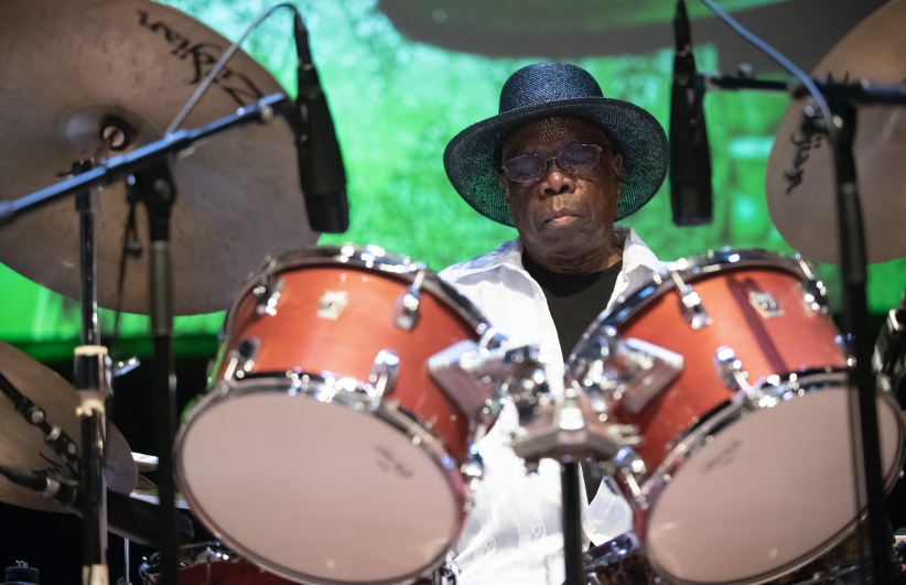 Andrew Cyrille at the 24th annual Vision Festival