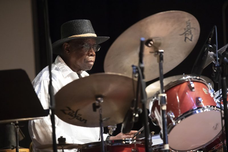 Andrew Cyrille at the 24th Vision Festival