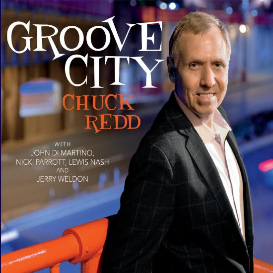 "Cover of Chuck Redd's album ""Groove City"""