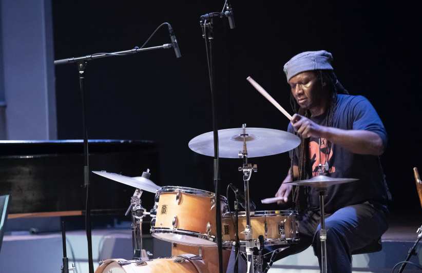 Hamid Drake at the 24th annual Vision Festival