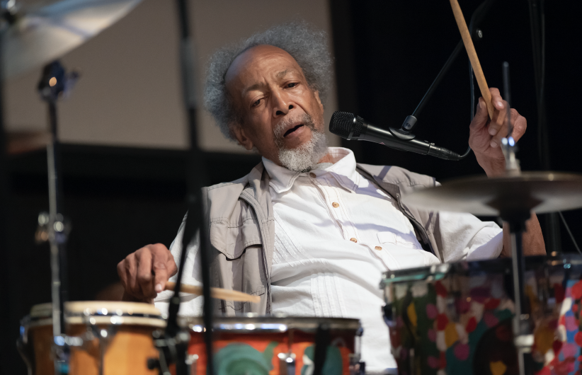 Milford Graves at the 24th annual Vision Festival