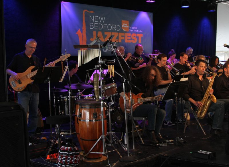 The Southcoast Jazz Orchestra performs at last year's New Bedford JazzFest.