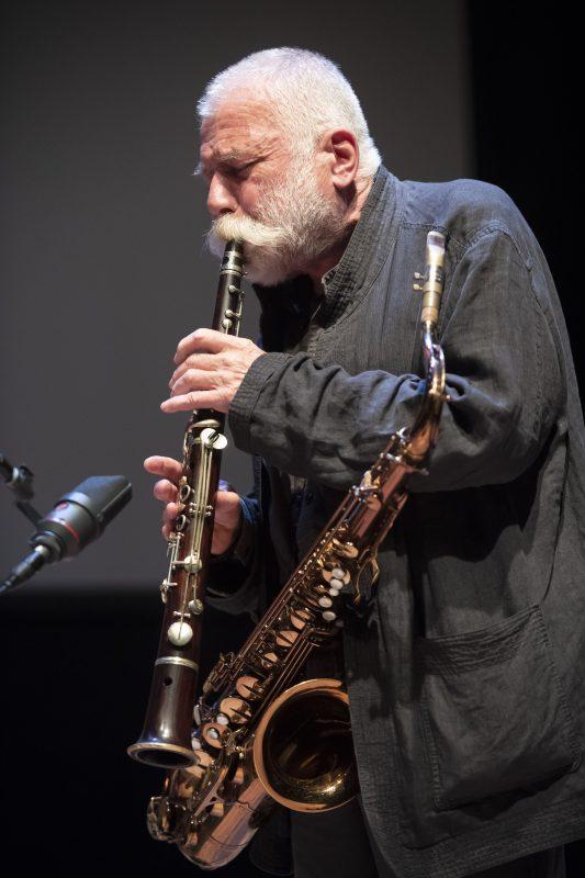 Peter Brötzmann at the 2019 Vision Festival
