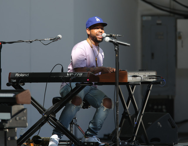 Terrace Martin at the 2019 Playboy Jazz Festival