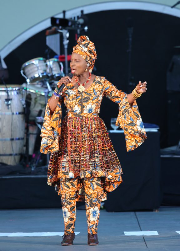 Angelique Kidjo at the 2019 Playboy Jazz Festival
