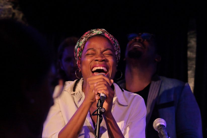 Malika Tirolien at the 2019 Montreal International Jazz Festival