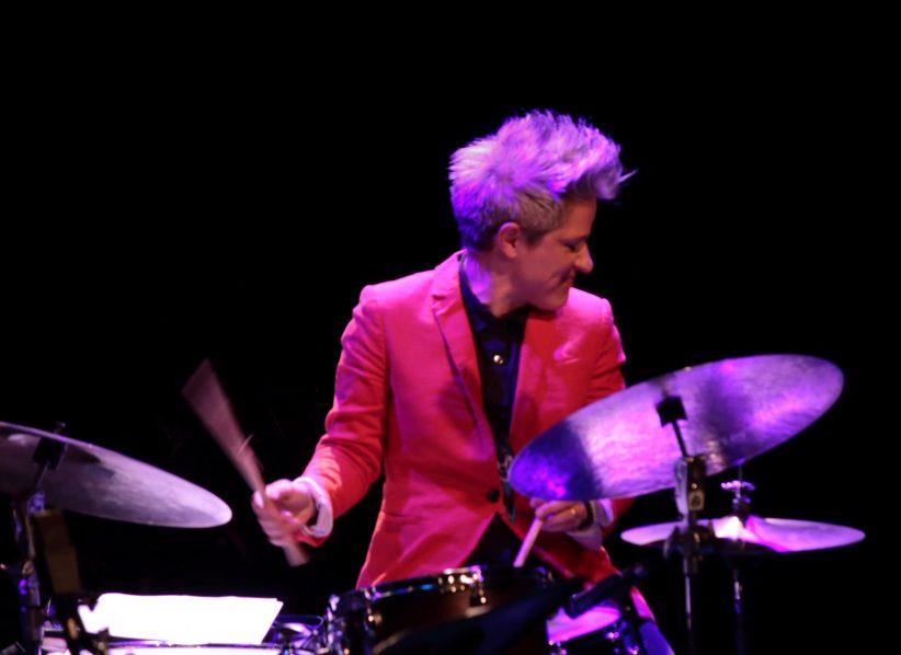 Allison Miller at the 2019 Montreal International Jazz Festival