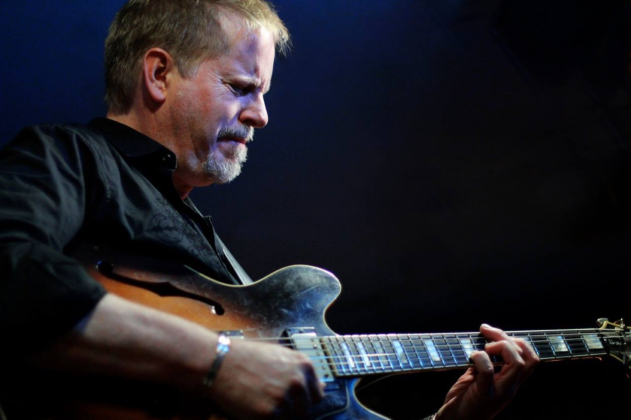 Dave Stryker plays his 1980 Gibson ES-347.