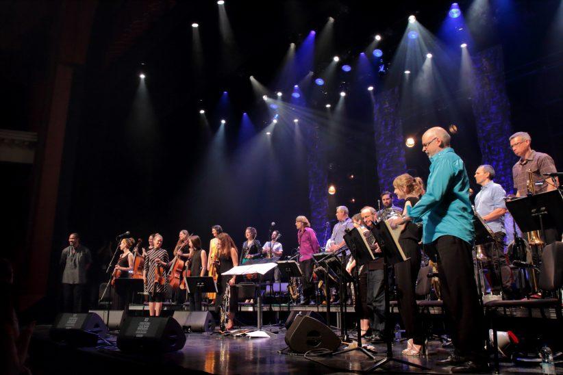 The Orchestre National de Jazz de Montréal at the 2019 Montreal International Jazz Festival