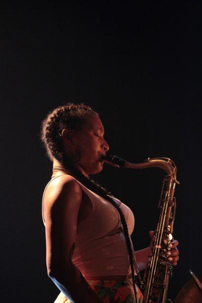Nubya Garcia at the 2019 Montreal International Jazz Festival
