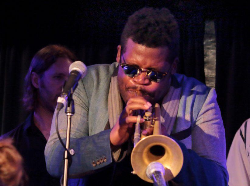 Keyon Harrold at the 2019 Montreal International Jazz Festival