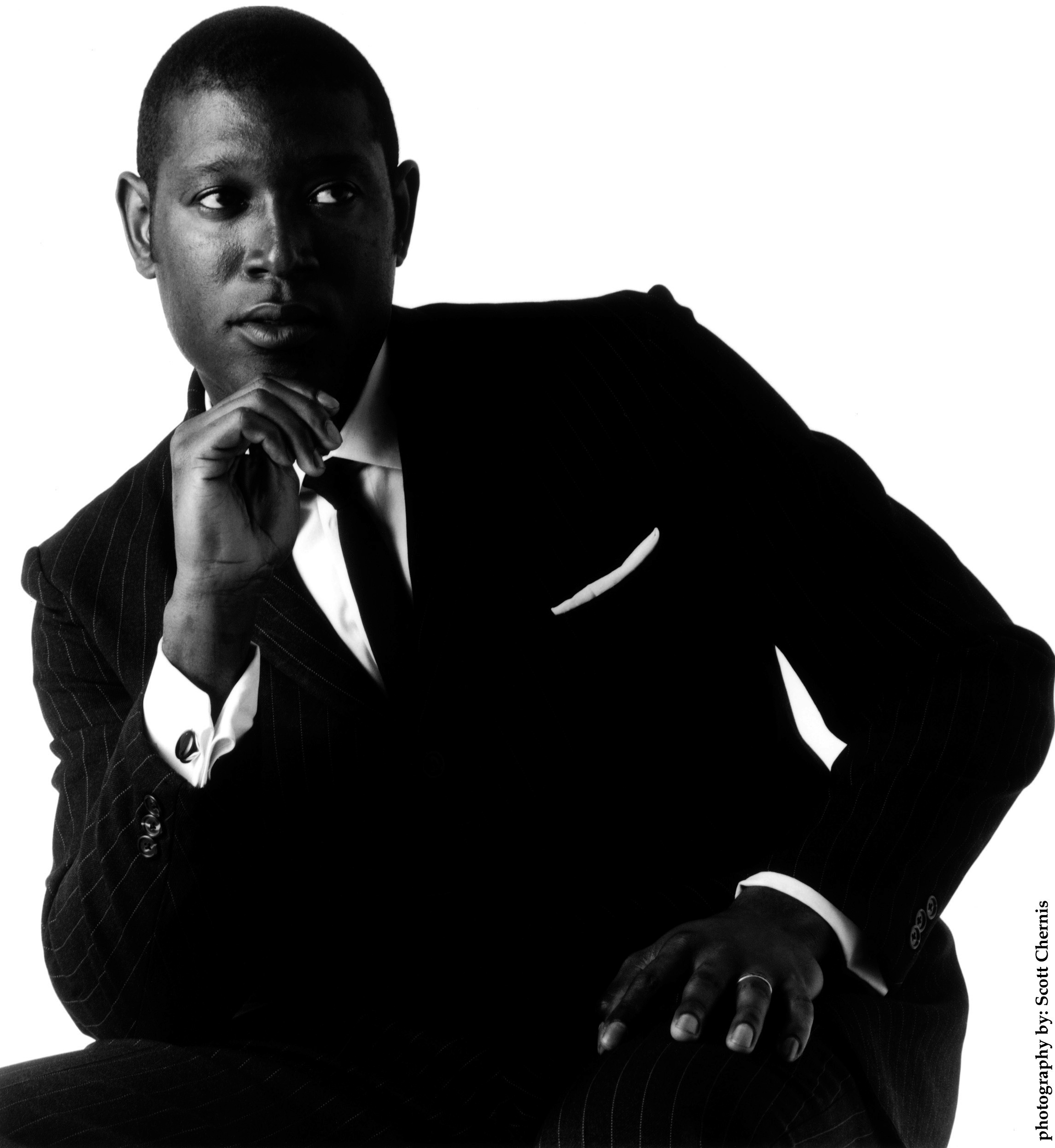 Bassist, composer and bandleader Marcus Shelby (photo by Scott Chernis)