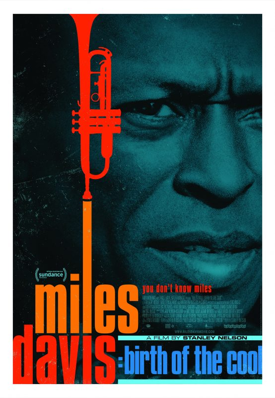 Official poster for Miles Davis: Birth of the Cool