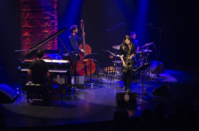 The Melissa Aldana Quartet at the 2019 Montreal International Jazz Festival