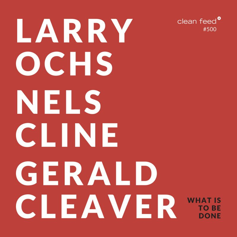 Larry Ochs/Nels Cline/Gerald Cleaver, What Is to be Done