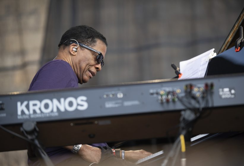 Herbie Hancock at the Newport Jazz Festival, August 2, 2019