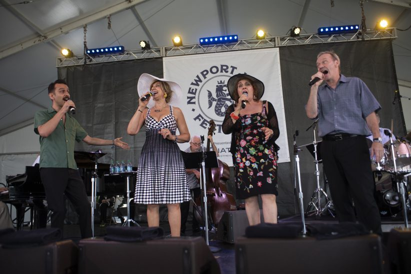 The Royal Bopsters at the Newport Jazz Festival, August 3, 2019
