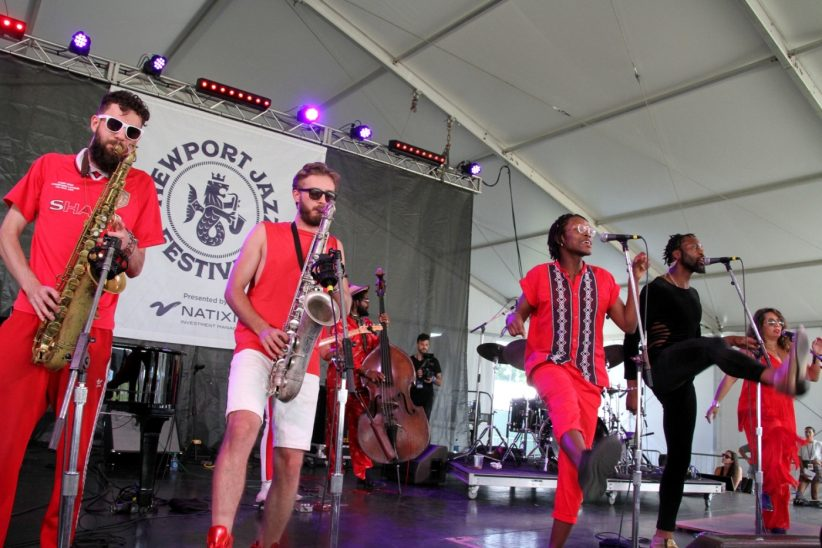 Mwenso & the Shakes at the Newport Jazz Festival, August 2, 2019
