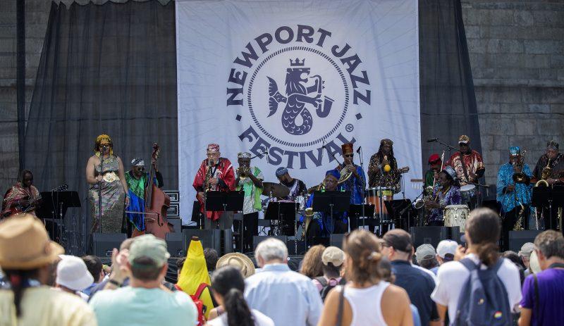 The Sun Ra Arkestra at the Newport Jazz Festival, August 2, 2019