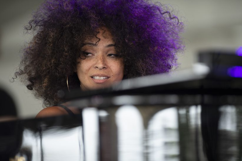 Kandace Springs at the Newport Jazz Festival, August 2, 2019