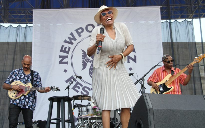 Dee Dee Bridgewater at the Newport Jazz Festival, August 3, 2019