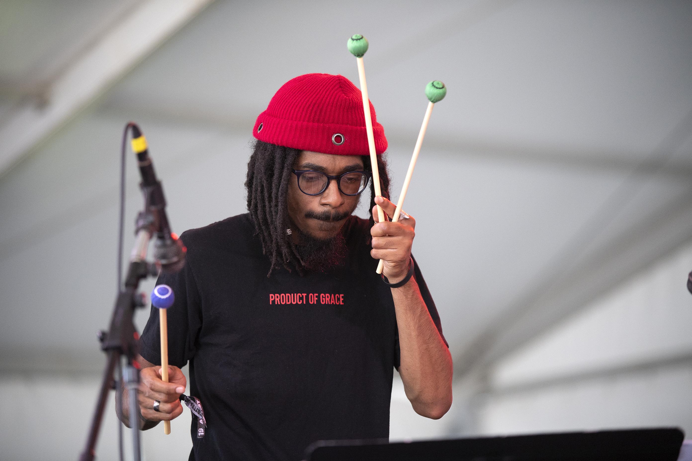 Joel Ross at the Newport Jazz Festival, August 4, 2019
