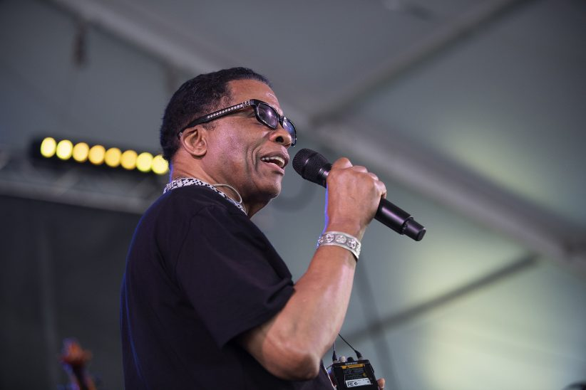 Herbie Hancock at the Newport Jazz Festival, August 3, 2019