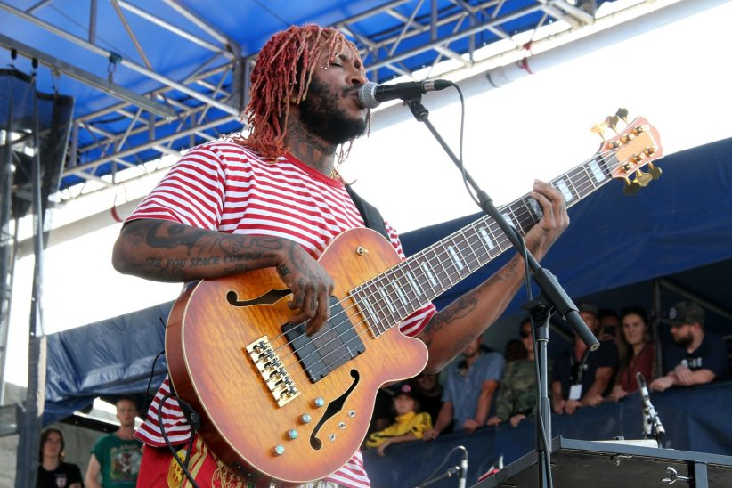 Thundercat at the Newport Jazz Festival, August 2, 2019